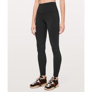 Lululemon Black Wunder Under High RIse Leggings 31